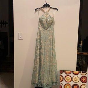 Beautiful prom, gala or wedding dress